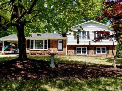 Apex Single Family Home Contingent: 907 Knollwood Drive