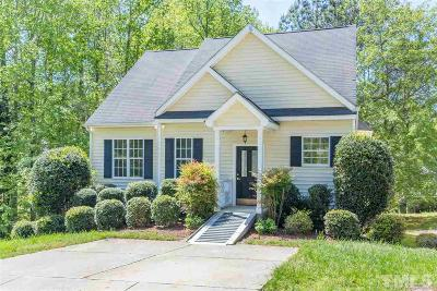 Apex Single Family Home For Sale: 106 Gumdrop Path