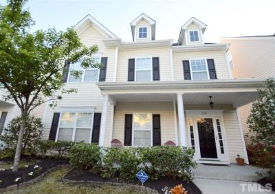 Morrisville Single Family Home Contingent: 728 Keystone Park