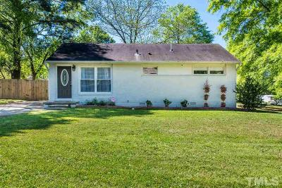 Raleigh NC Single Family Home For Sale: $225,000