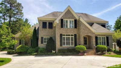 Raleigh Single Family Home For Sale: 4401 Harbourgate Drive