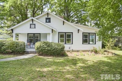 Chapel Hill Single Family Home Pending: 5212 Farrington Road