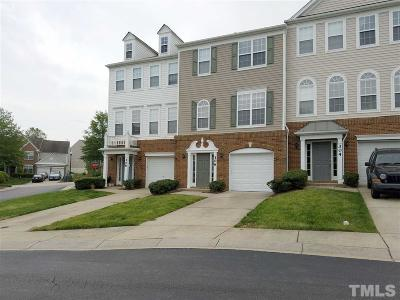Morrisville Townhouse For Sale: 306 Great Ridge Court