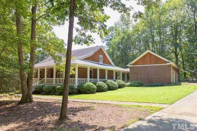 Chapel Hill Single Family Home For Sale: 26 Mary Charles Lane