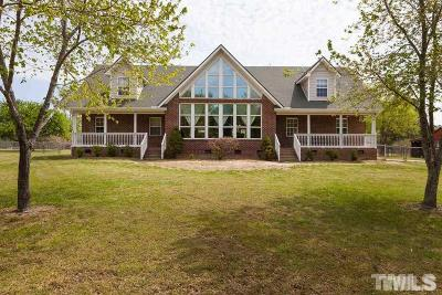 Wendell Single Family Home For Sale: 140 Hardy Road