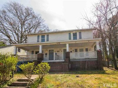Durham Multi Family Home For Sale: 910 Camden Avenue
