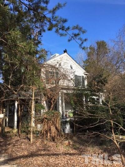 Durham Single Family Home For Sale: 5472 N Roxboro Road