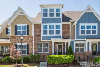 Cary Townhouse For Sale: 4013 Overcup Oak Lane