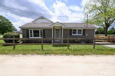 Angier Single Family Home For Sale: 8143 Nc 210 Highway