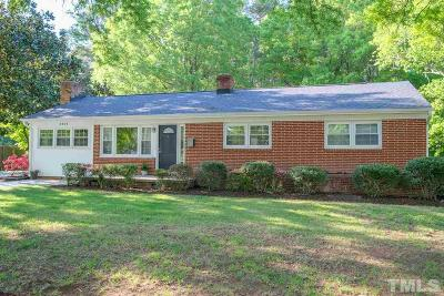 Durham Single Family Home For Sale: 2401 Carver Street