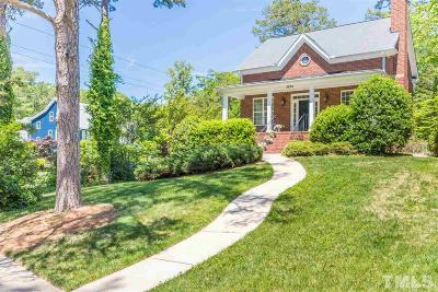 Raleigh Single Family Home For Sale: 3224 Bedford Avenue