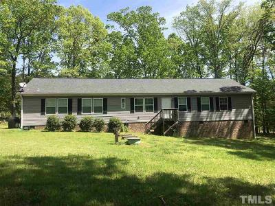 Durham Single Family Home For Sale: 4004 Station Road