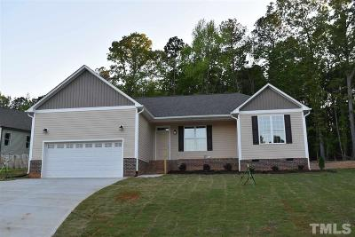 Youngsville Single Family Home Pending: 15 Tuscan Court