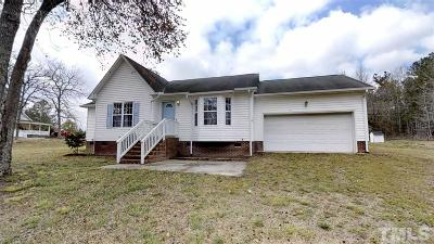 Single Family Home Pending: 16314 W Nc 27