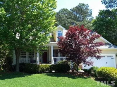 Cary Single Family Home Pending: 118 Carswell Lane