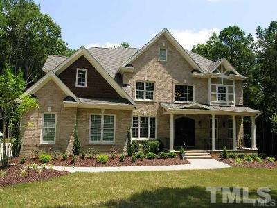 Raleigh Single Family Home For Sale: 12440 Peed Road