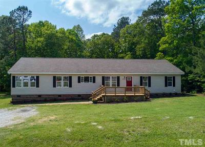 Willow Spring(s) Single Family Home Pending: 8506 South Creek Road