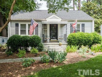 Wake County Single Family Home For Sale: 623 Glascock Street