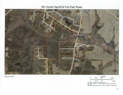 Franklin County Residential Lots & Land For Sale: Fox Park Road
