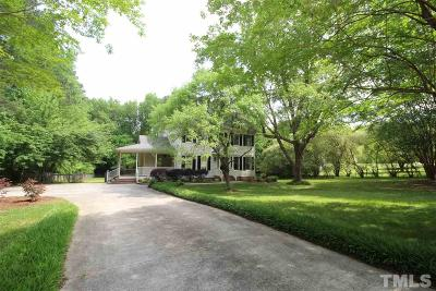 Wake Forest Single Family Home Contingent: 4041 Medlin Avenue