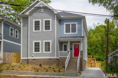 Durham Single Family Home For Sale: 1508 W Club Boulevard