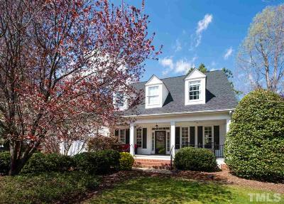 Cary Single Family Home Contingent: 102 Scots Cove Lane