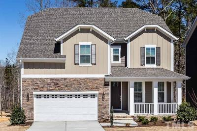 Apex Single Family Home For Sale: 2682 Tunstall Grove Drive #Homesite