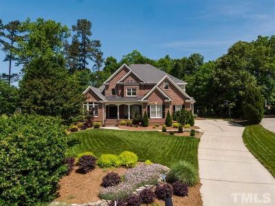 Cary Single Family Home Contingent: 104 Oakpond Court