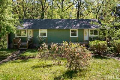 Chatham County Multi Family Home Contingent: 156 Cedar Lake Road #A/B