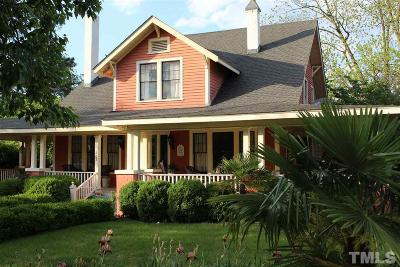 Benson Single Family Home For Sale: 307 E Hill Street