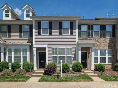 Raleigh NC Townhouse Contingent: $210,000