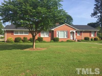 Dunn NC Single Family Home Pending: $159,900