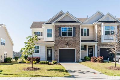 Morrisville Townhouse For Sale: 228 Durants Neck Lane