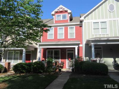 Pittsboro Townhouse Contingent: 148 Millbrook Drive