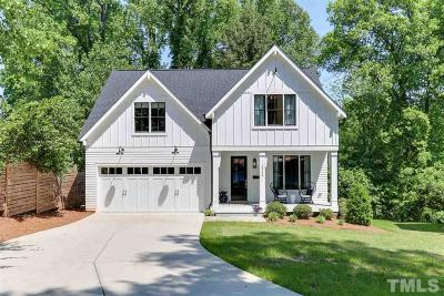 Raleigh Single Family Home Contingent: 514 1/2 Cole Street
