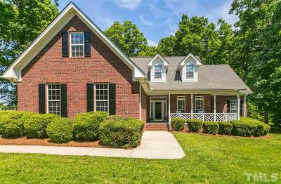 Youngsville Single Family Home Contingent: 15 Jimmys Pond Road