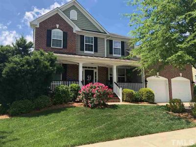 Wake Forest Single Family Home Contingent: 704 Barley Green Street