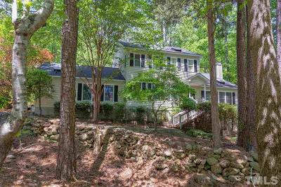 Pittsboro Single Family Home For Sale: 663 Graycliff