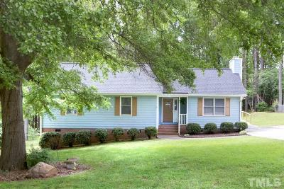 Fuquay Varina Single Family Home Contingent: 3305 Laura Ashley Circle