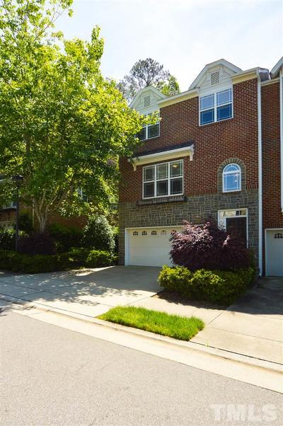 Chapel Hill Townhouse Contingent: 208 Napa Valley Way