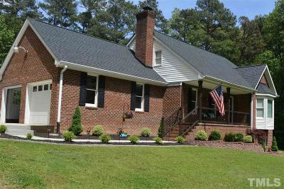 Youngsville Single Family Home Contingent: 108 Colonial Drive
