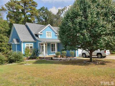 Pittsboro Single Family Home For Sale: 490 Chatham Forest Drive