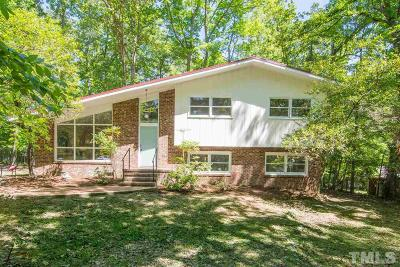 Carrboro Single Family Home Contingent: 302 Rainbow Drive