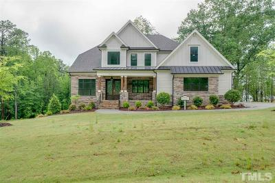 Wake Forest Single Family Home For Sale: 7624 Dover Hills Drive