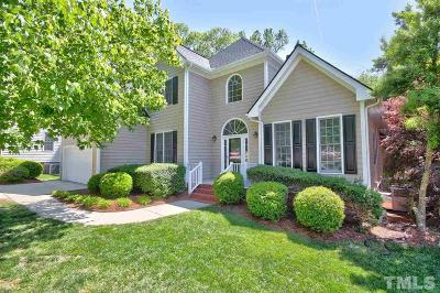 Apex Single Family Home Contingent: 3008 Cumberland Gap Court