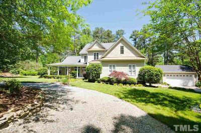 Hillsborough Single Family Home For Sale: 3121 Tree Farm Road