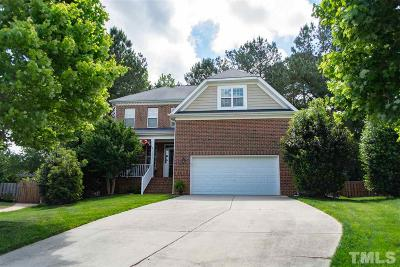 Wake Forest Single Family Home Contingent: 1337 Lindenberg Square