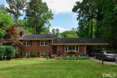 Raleigh Single Family Home For Sale: 303 Glen Valley Drive