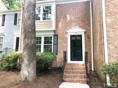Cary Townhouse Pending: 1117 Collington Drive