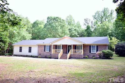 Knightdale Single Family Home Contingent: 8832 Poole Road
